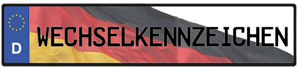 Wechselkennzeichen Deutschland